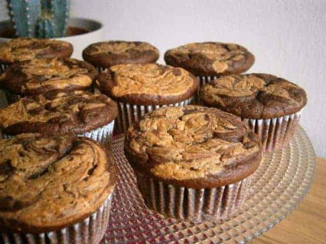 Cupcakes De Cacau Com Manteiga De Amendoim