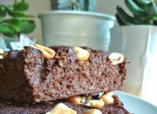Brownie de Chocolate e Batata Doce