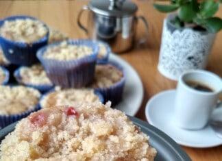 Cupcakes Crocantes de Frutos Vermelhos